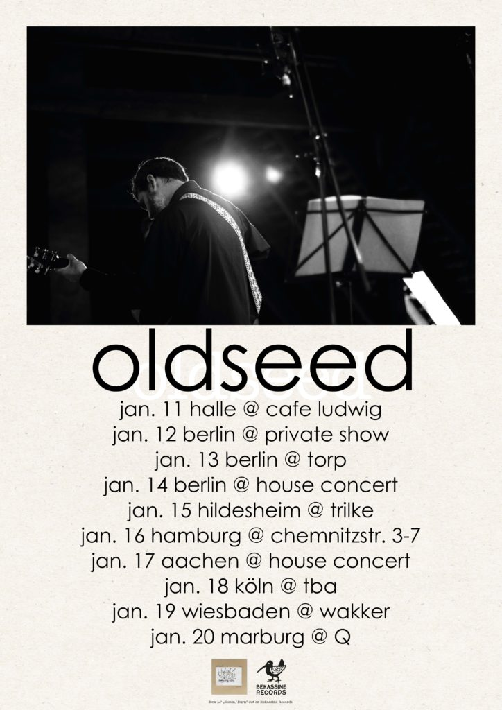 Oldseed auf Tour 2017